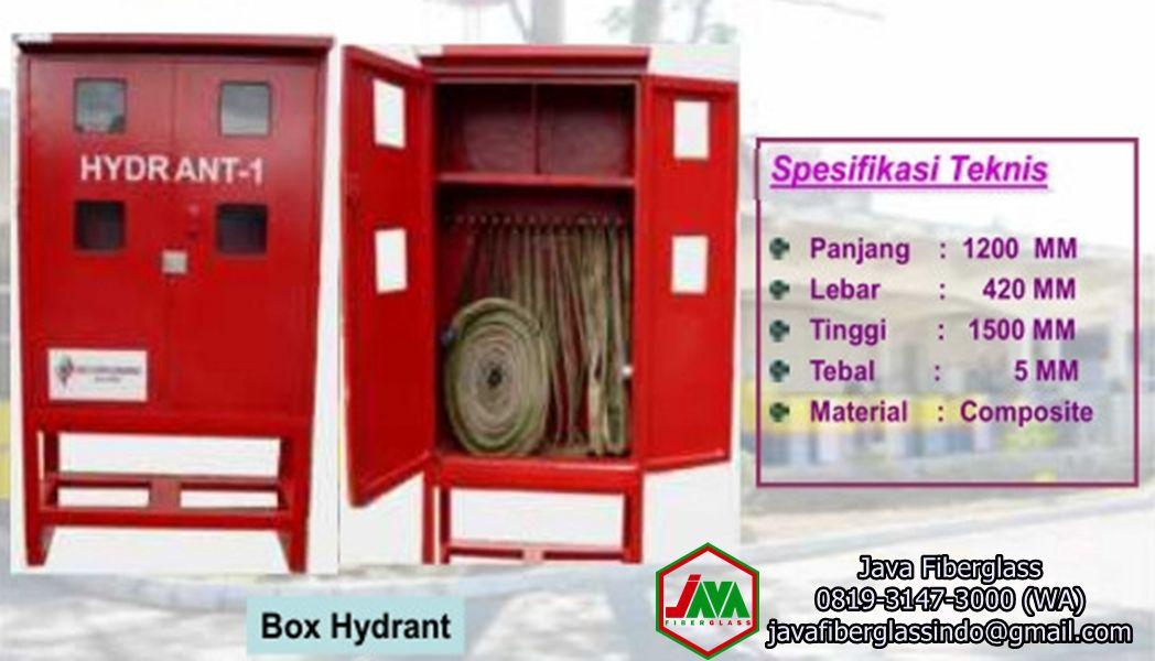 Box Hydrant Apar Fiberglass Frp Java Fiberglass
