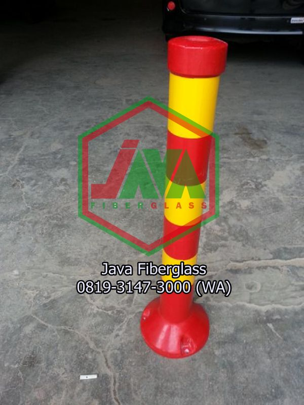 stick cone fiberglass marka jalan