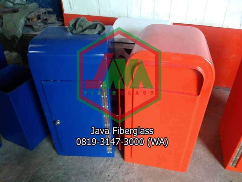 model tong sampah fiber 120Liter