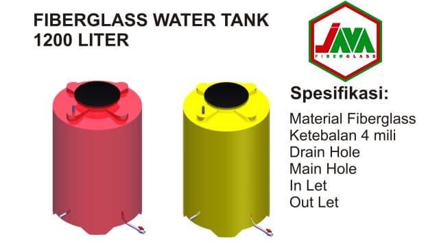 gambar tangki air fiberglass