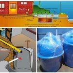 sistem tangki septik rumah