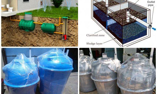 tangki septic fiber