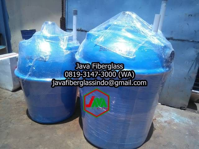 ukuran bio septic tank